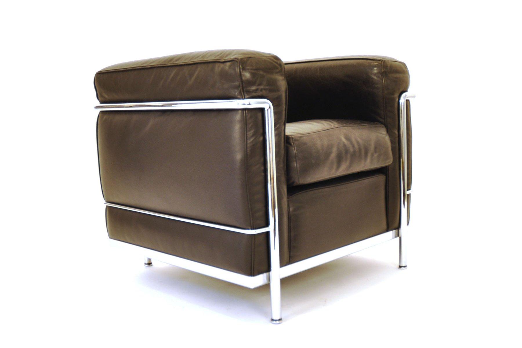 Sedia LC2 di Le Corbusier, Pierre Jeanneret & Charlotte Perriand ...