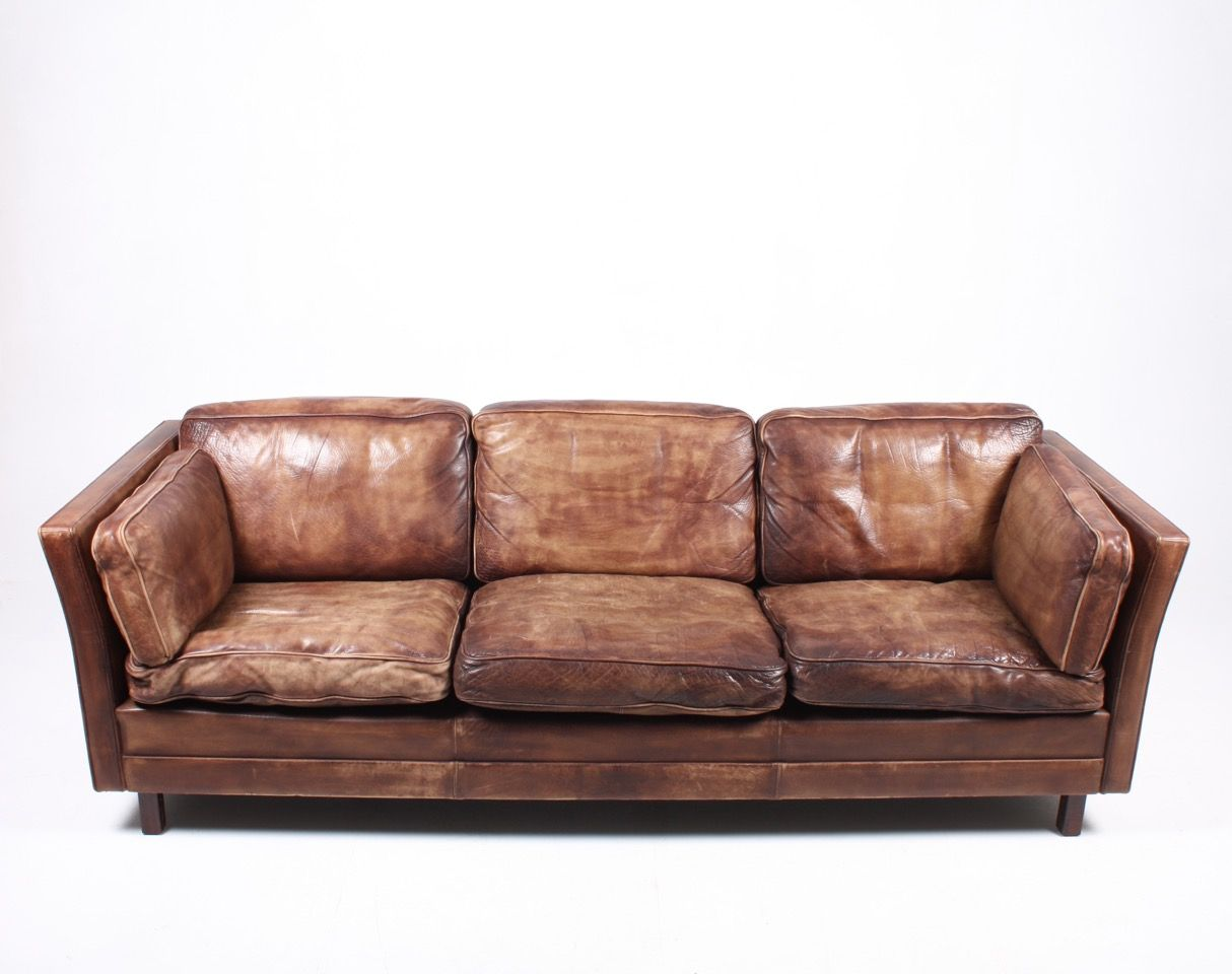 Vintage Brown Leather Sofa Nina S Apartment Vintage Upcycled Handmade Homeware Tan Thesofa