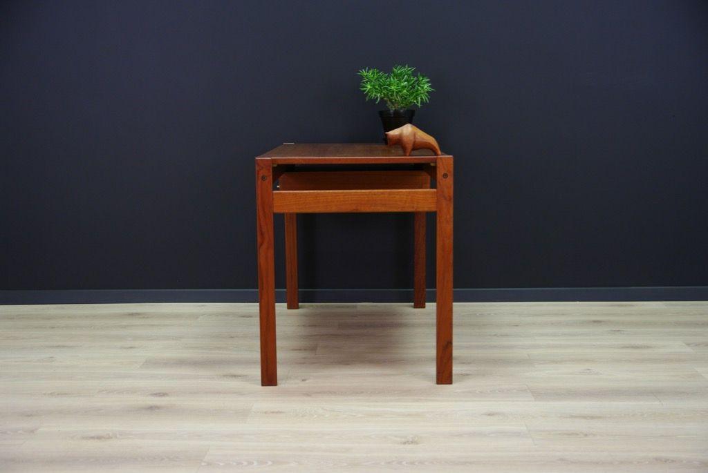 d nischer teak schreibtisch 1960er bei pamono kaufen. Black Bedroom Furniture Sets. Home Design Ideas