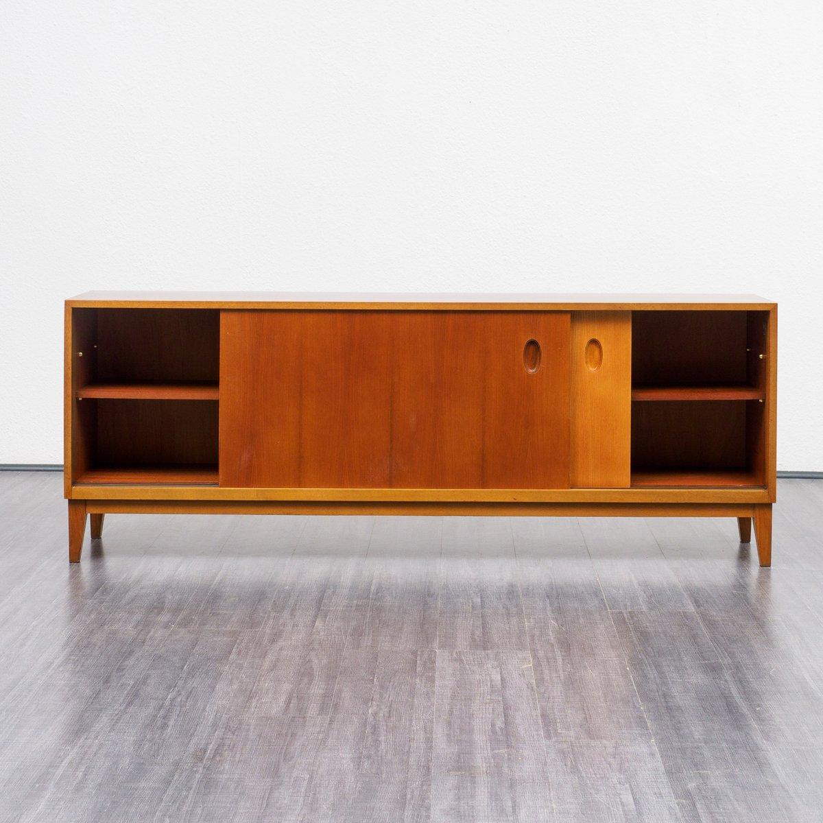 sideboard by g satink for wk m bel in walnut 1950s for. Black Bedroom Furniture Sets. Home Design Ideas