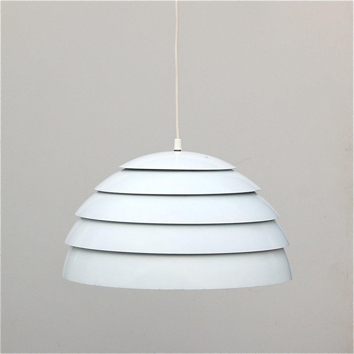 Vintage white dome pendant lamp by hans agne jakobsson for vintage white dome pendant lamp by hans agne jakobsson for markaryd 1960s for sale at pamono arubaitofo Gallery