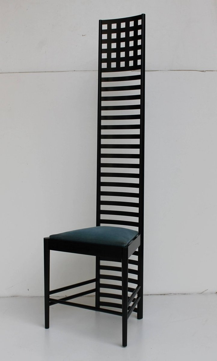 Hill House Ladderback Chair By Charles Rennie Mackintosh
