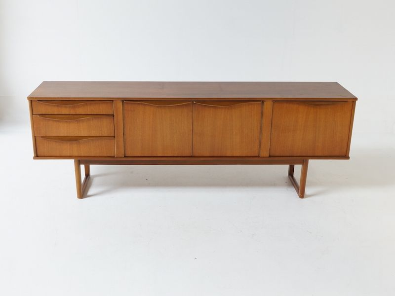Teak Sideboard by Stonehill Furniture, 1960s for sale at