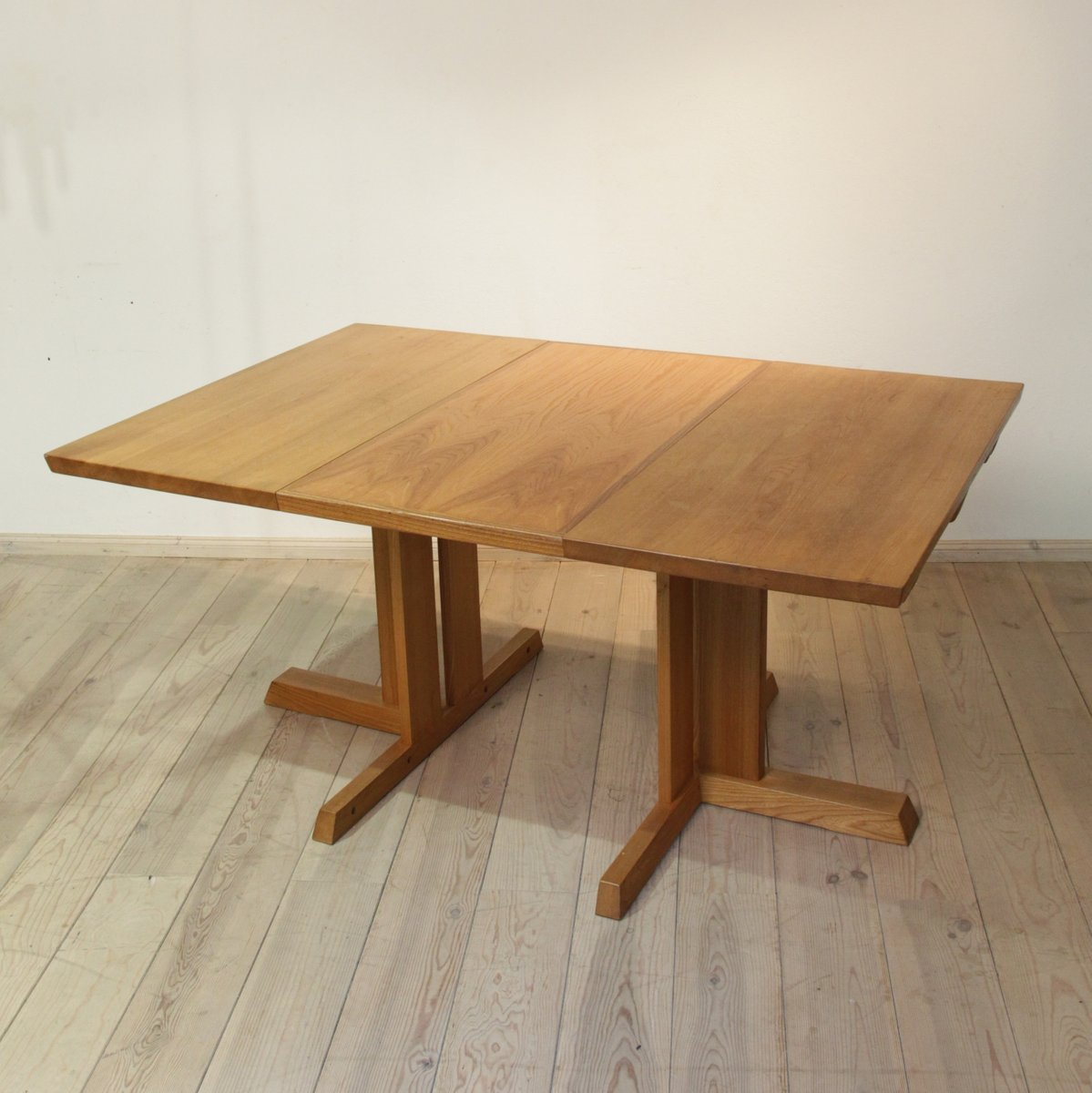 Ash Wood Table ~ Extendable ash wood table s for sale at pamono