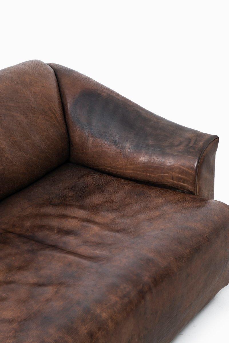 2 sitzer sofa und ds 47 sessel von de sede 2er set bei pamono kaufen. Black Bedroom Furniture Sets. Home Design Ideas