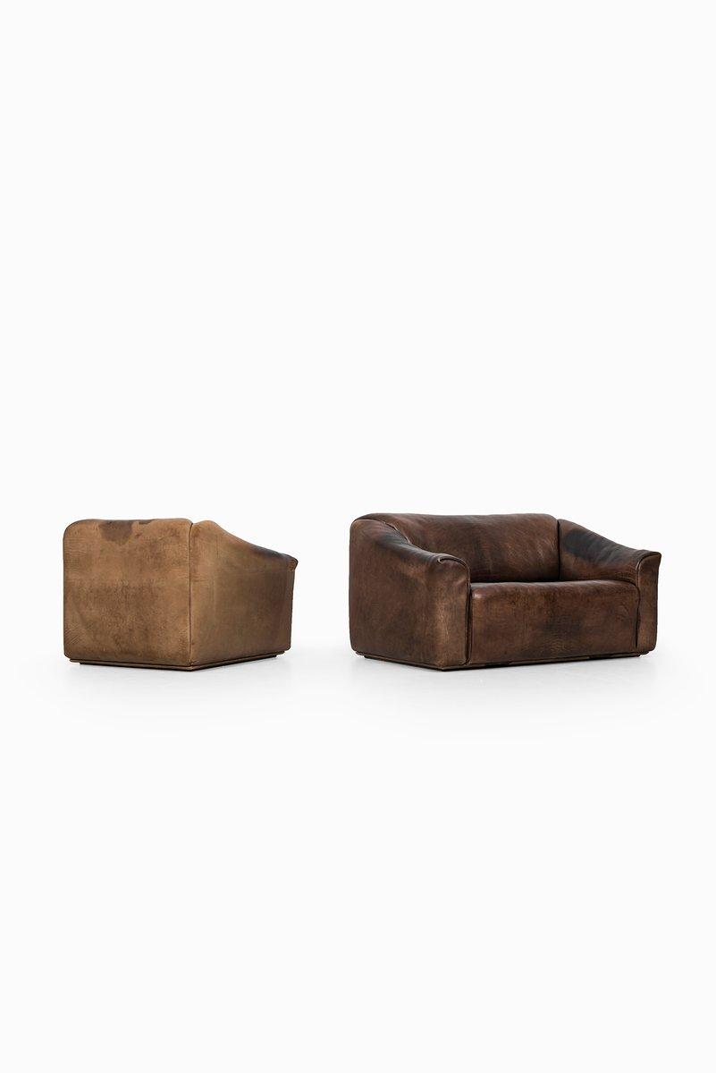 2 sitzer sofa und ds 47 sessel von de sede 2er set bei for Sofa 7 sitzer