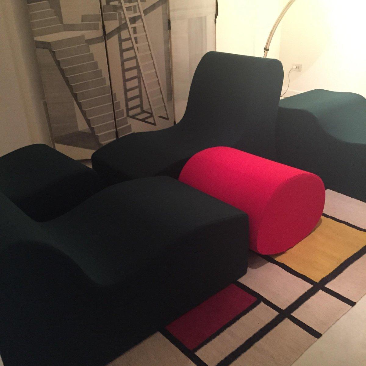 Muro Living Room Seats By Roberto Antonio Sebastian Matta For