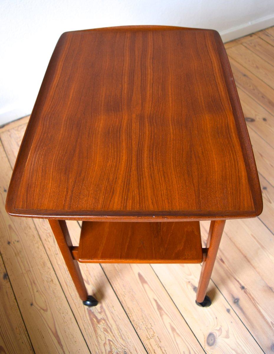 skandinavischer teak servierwagen 1960er bei pamono kaufen. Black Bedroom Furniture Sets. Home Design Ideas