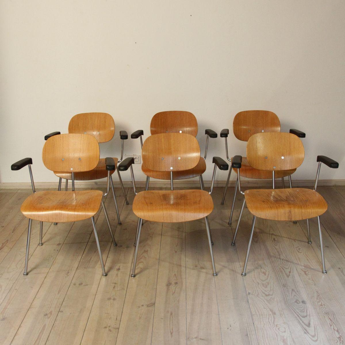 esszimmerst hle von egon eiermann f r wilde spieth 6er. Black Bedroom Furniture Sets. Home Design Ideas