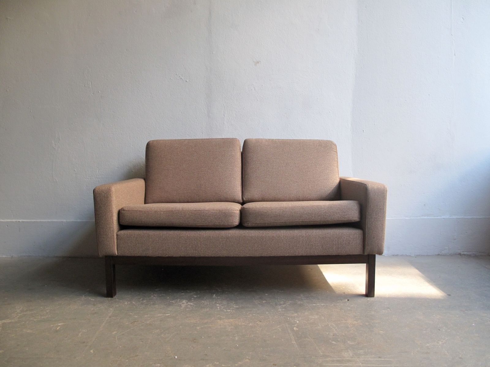 vintage danish rosewood two seater sofa for sale at pamono