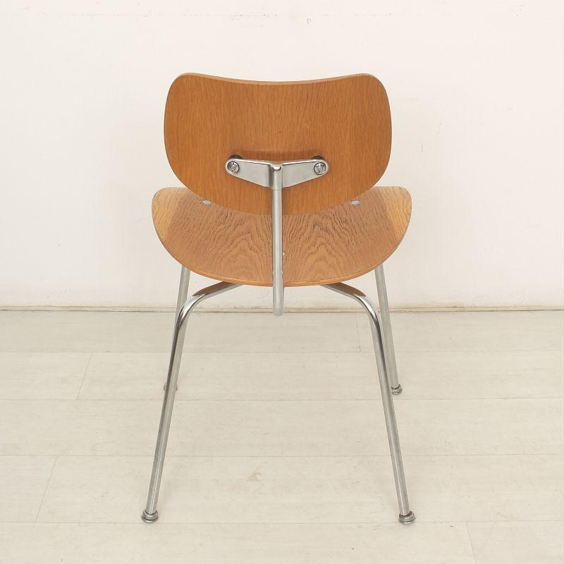 egon eiermann se 68 eichen stuhl von egon eiermann f r wilde spieth bei pamono kaufen. Black Bedroom Furniture Sets. Home Design Ideas