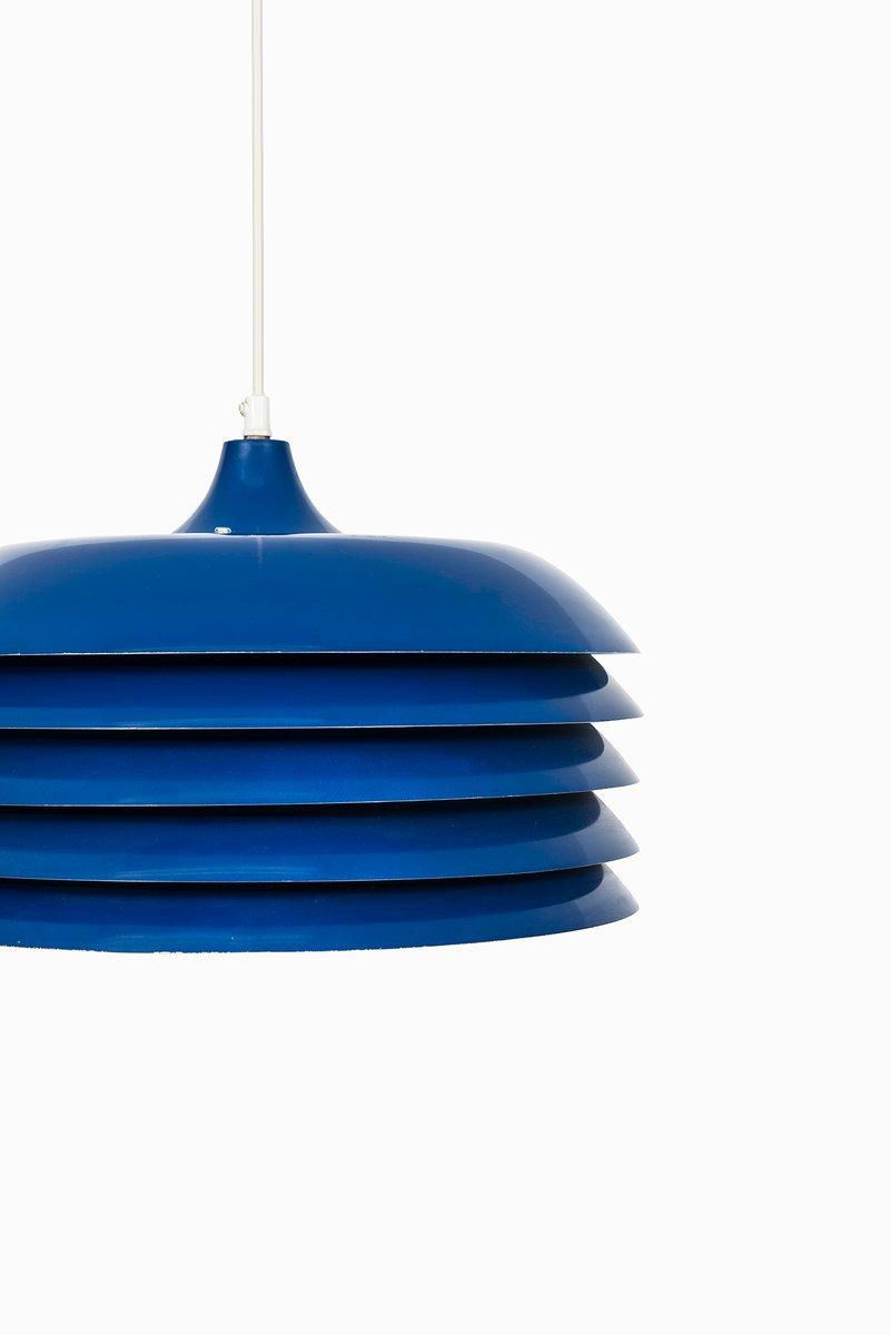 blue model 742 ceiling light by hans agne jakobsson for. Black Bedroom Furniture Sets. Home Design Ideas