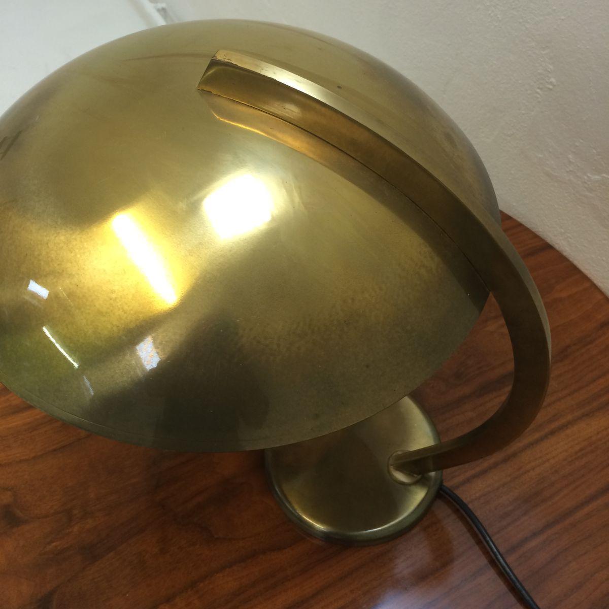 mid century schreibtischlampe aus messing von hillebrand lighting bei pamono kaufen. Black Bedroom Furniture Sets. Home Design Ideas