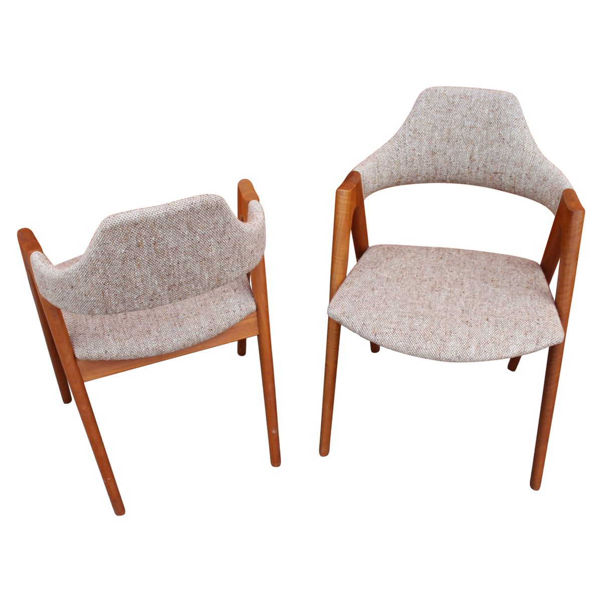 Compass dining chairs by kai kristiansen for schou andersen 1960s set of 6 for sale at pamono - Kai kristiansen chairs ...