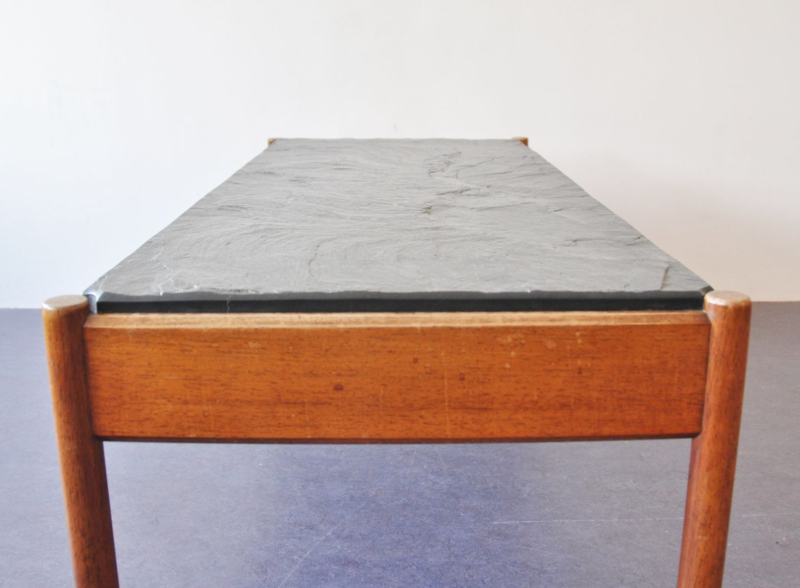 Mid Century Stone Tile Coffee Table For Sale At Pamono