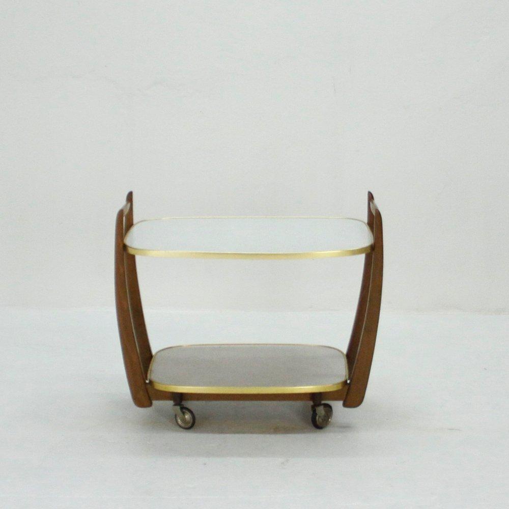 resopal servierwagen 1950er bei pamono kaufen. Black Bedroom Furniture Sets. Home Design Ideas