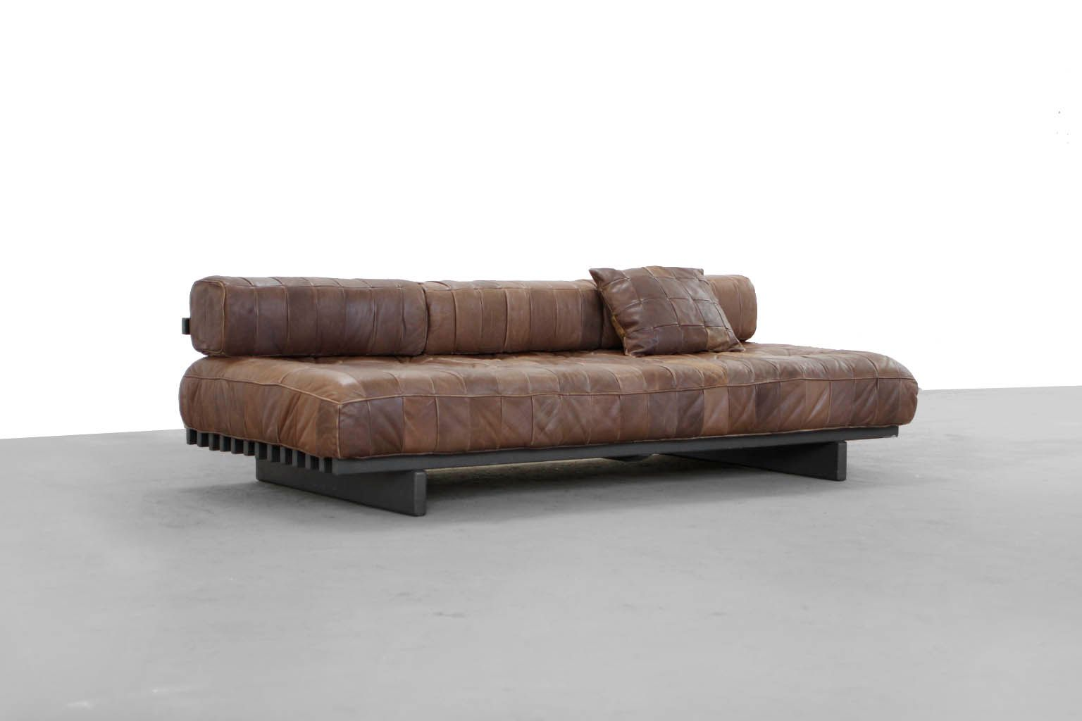 mid century sofa daybed by de sede 1972 for sale at pamono. Black Bedroom Furniture Sets. Home Design Ideas