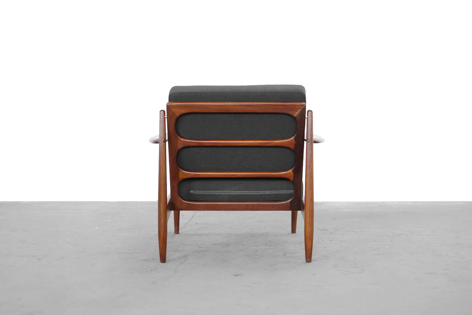 danish modern chairs 1960 set of 2 for sale at pamono