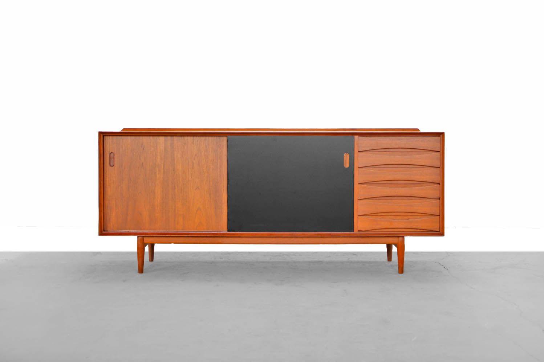 danish modern sideboard by arne vodder 1958 for sale at. Black Bedroom Furniture Sets. Home Design Ideas
