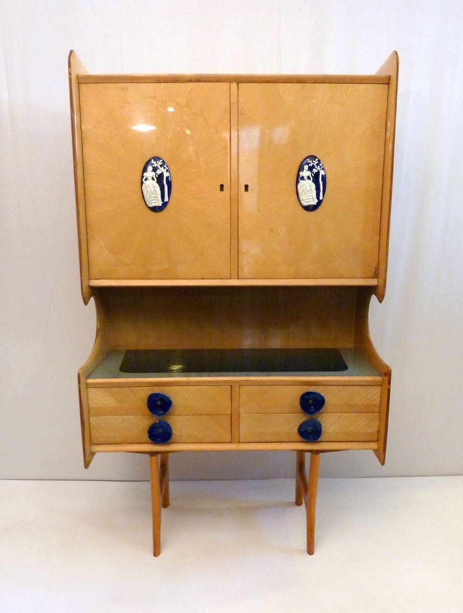 Mid Century Cabinet By Ico Parisi 1950s For Sale At Pamono