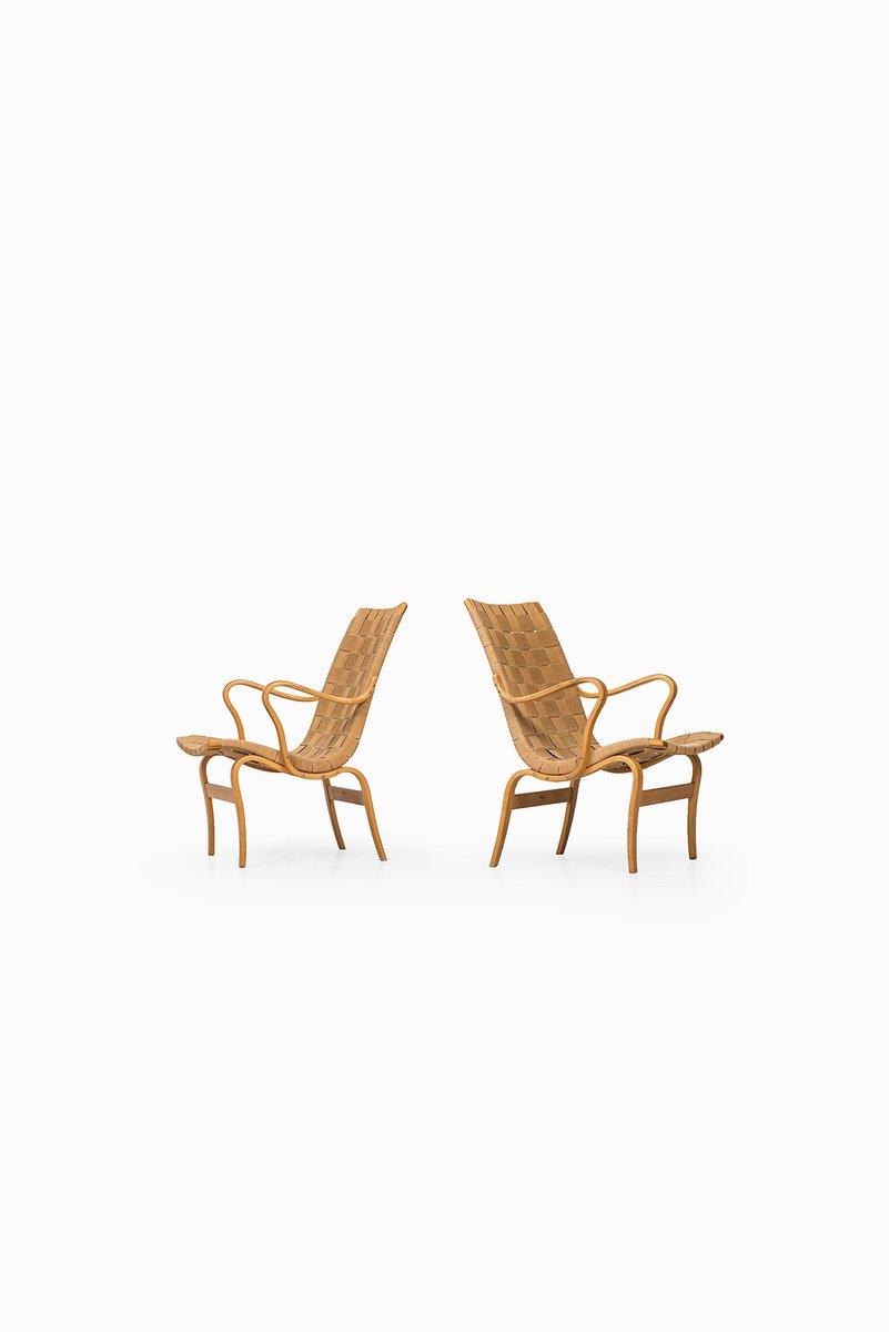 skandinavische eva st hle von bruno mathsson f r karl mathsson 1973 2er set bei pamono kaufen. Black Bedroom Furniture Sets. Home Design Ideas