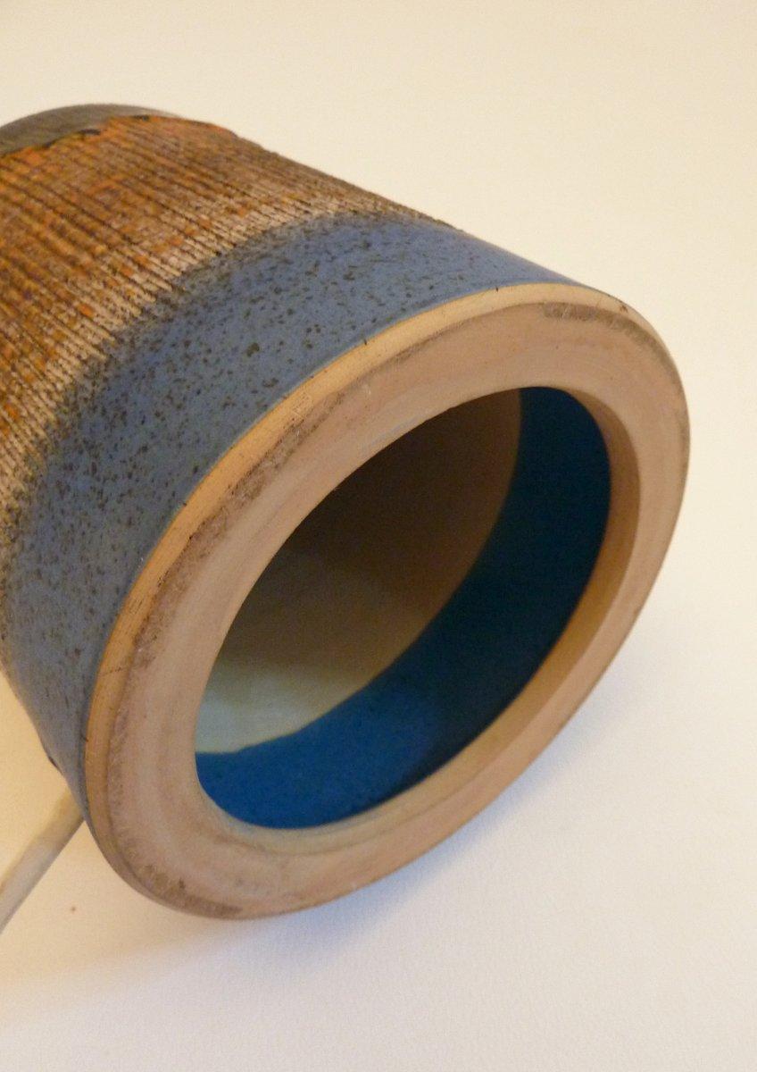 d nische vintage tischlampe aus keramik bei pamono kaufen. Black Bedroom Furniture Sets. Home Design Ideas