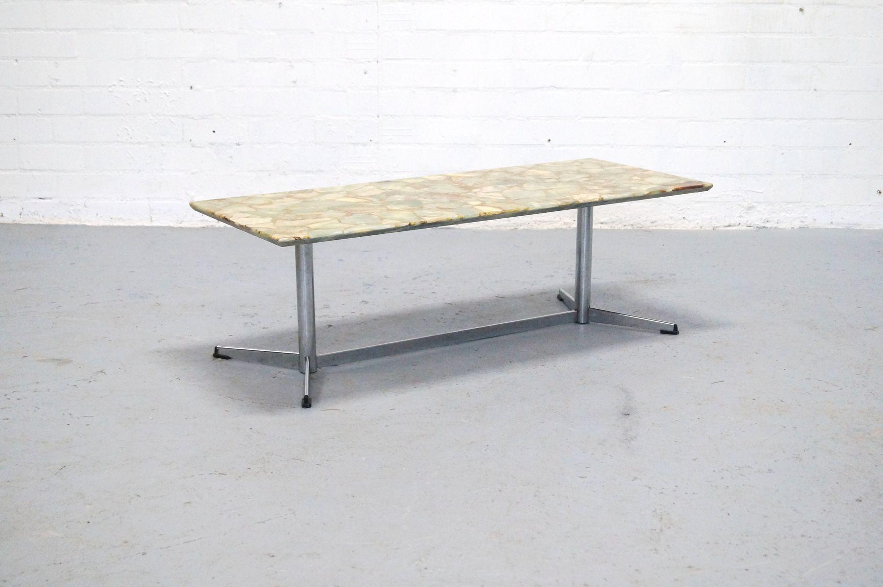d nischer stein couchtisch 1960er bei pamono kaufen. Black Bedroom Furniture Sets. Home Design Ideas