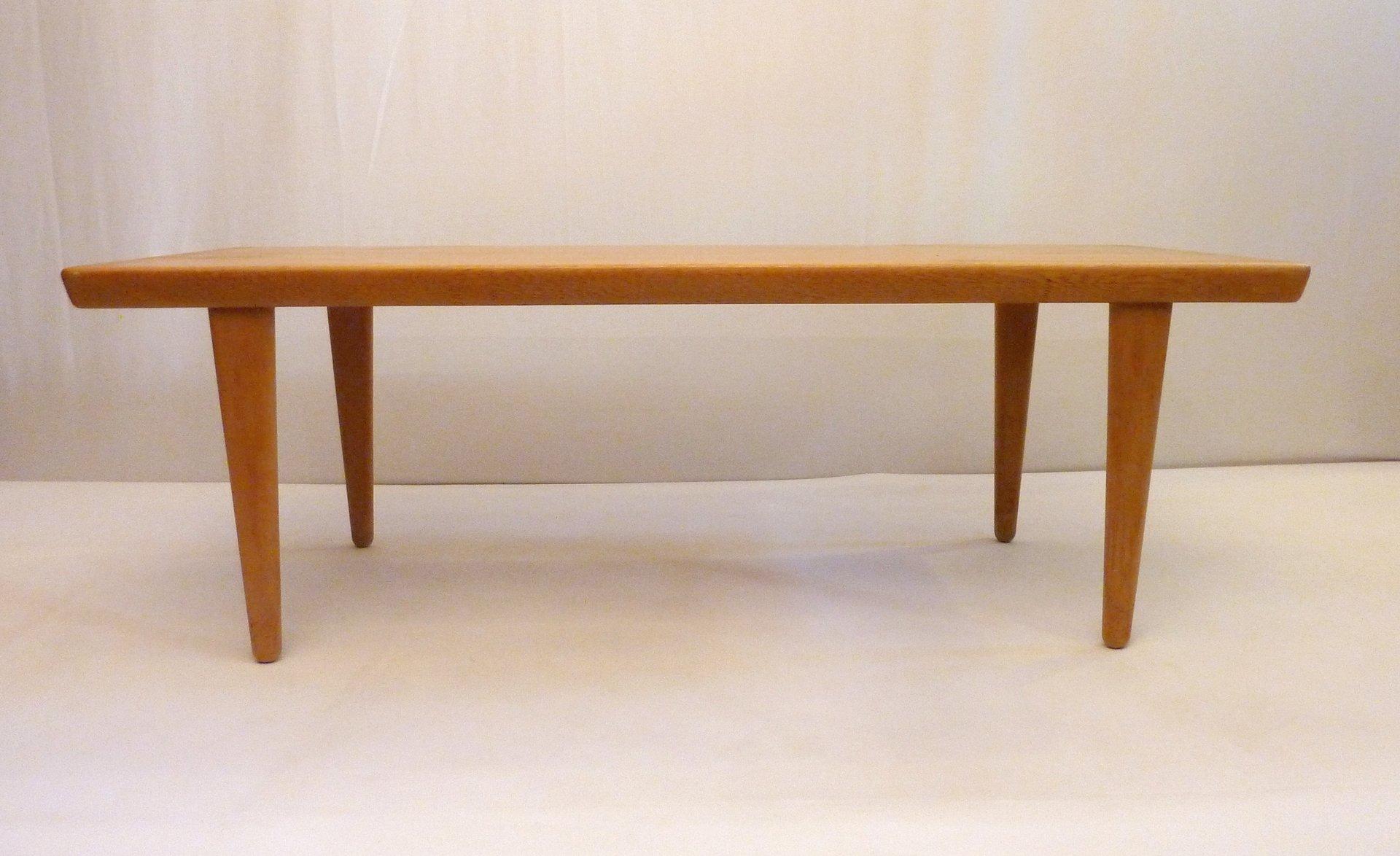 Oak Coffee Table from Seffle Möbelfabrik Sweden for sale at Pamono