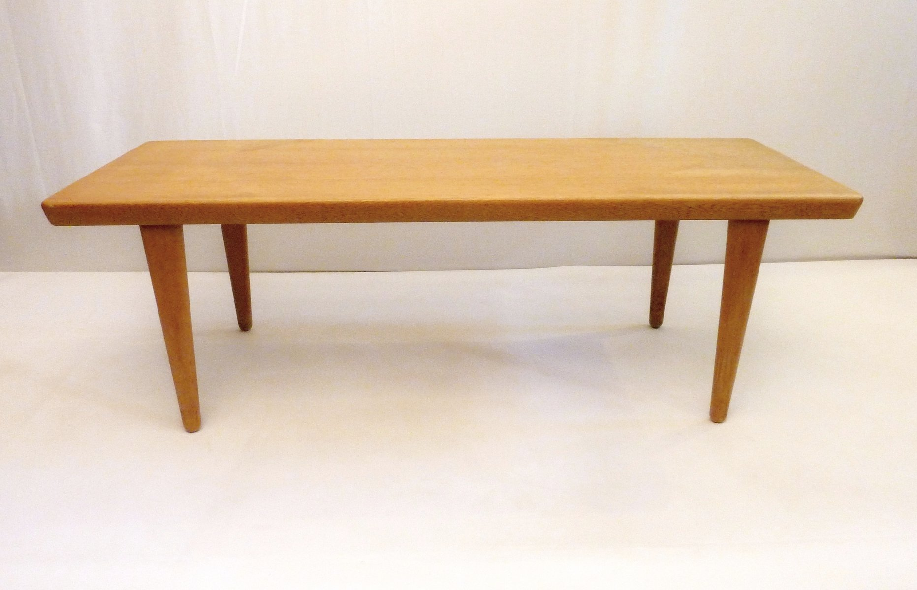 Oak Coffee Table from Seffle Möbelfabrik Sweden for sale at Pamono