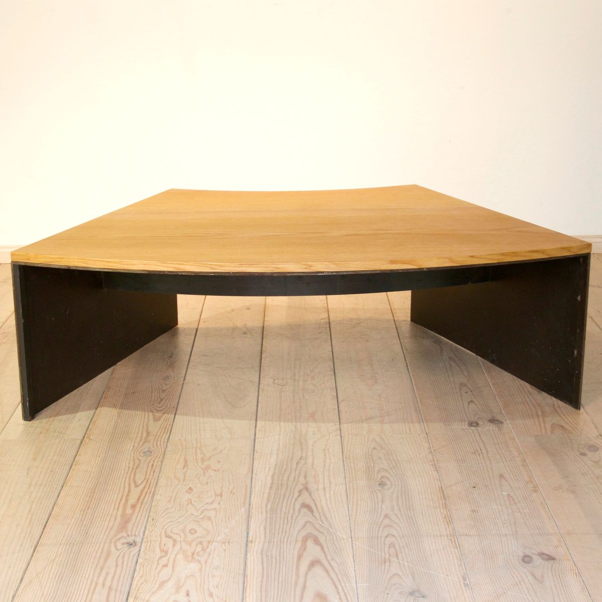 Vintage metal and oak coffee table for sale at pamono vintage metal and oak coffee table geotapseo Image collections