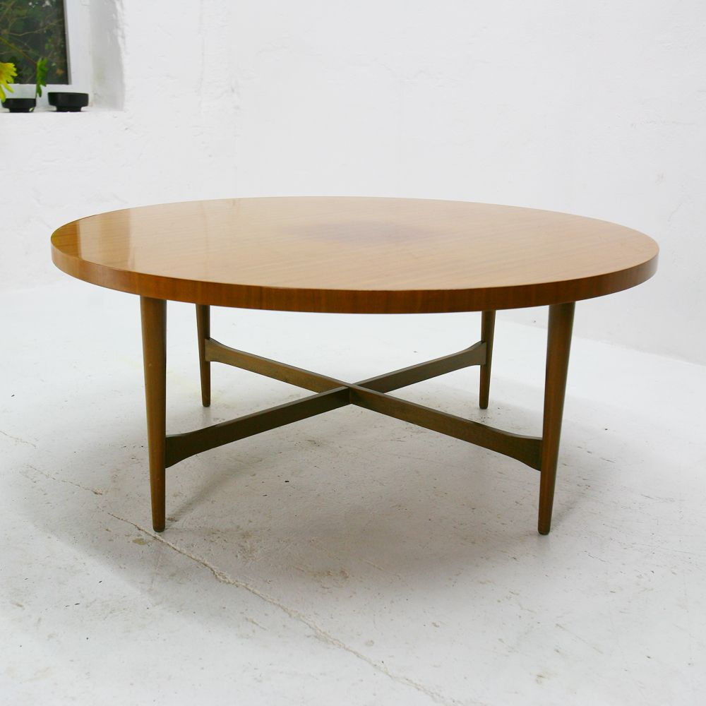 Walnut Coffee Table From Ilse M Bel 1950s For Sale At Pamono
