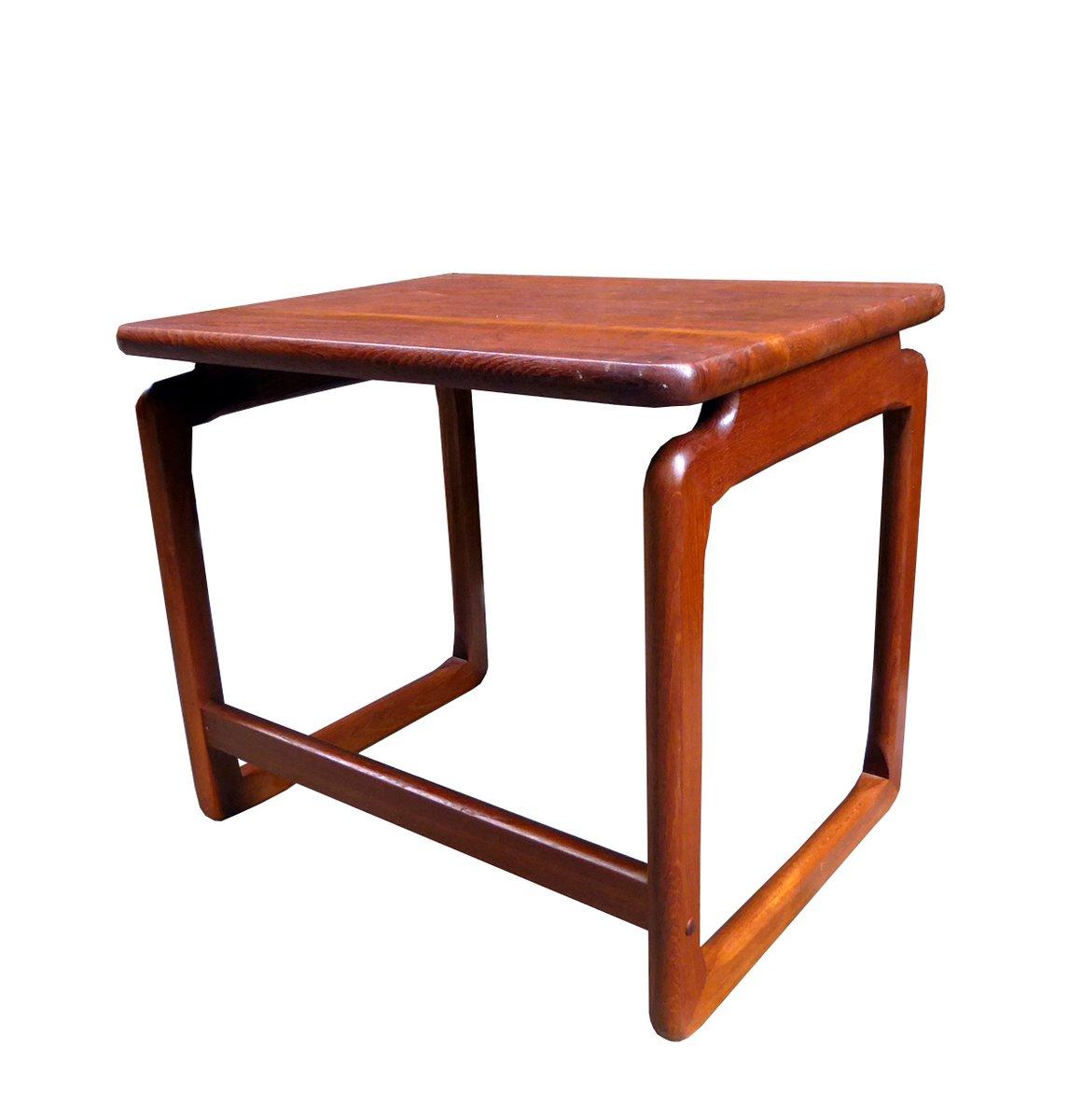 Danish teak coffee table 1950s for sale at pamono for Teak coffee table