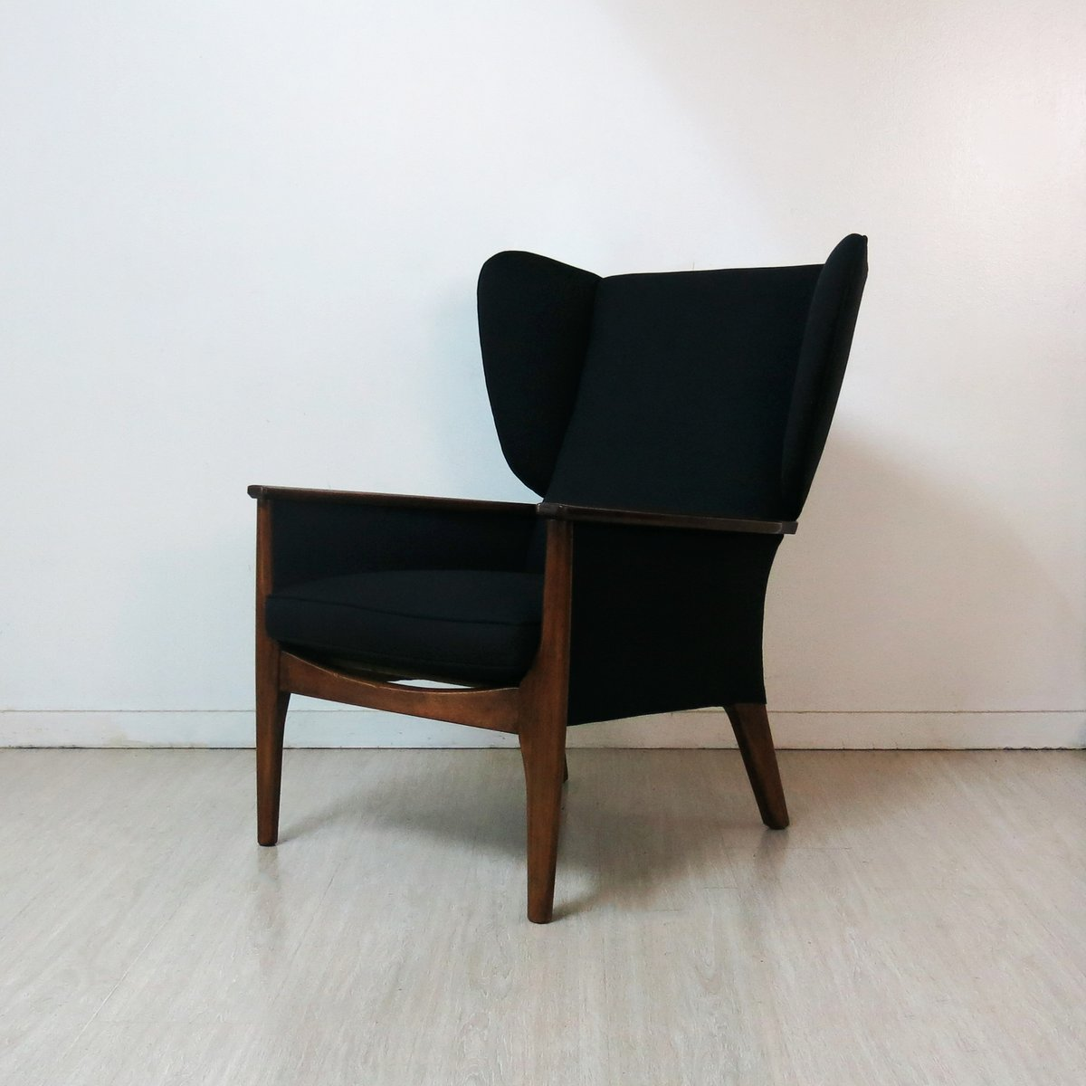 fauteuil oreilles vintage de parker knoll 1960s en. Black Bedroom Furniture Sets. Home Design Ideas