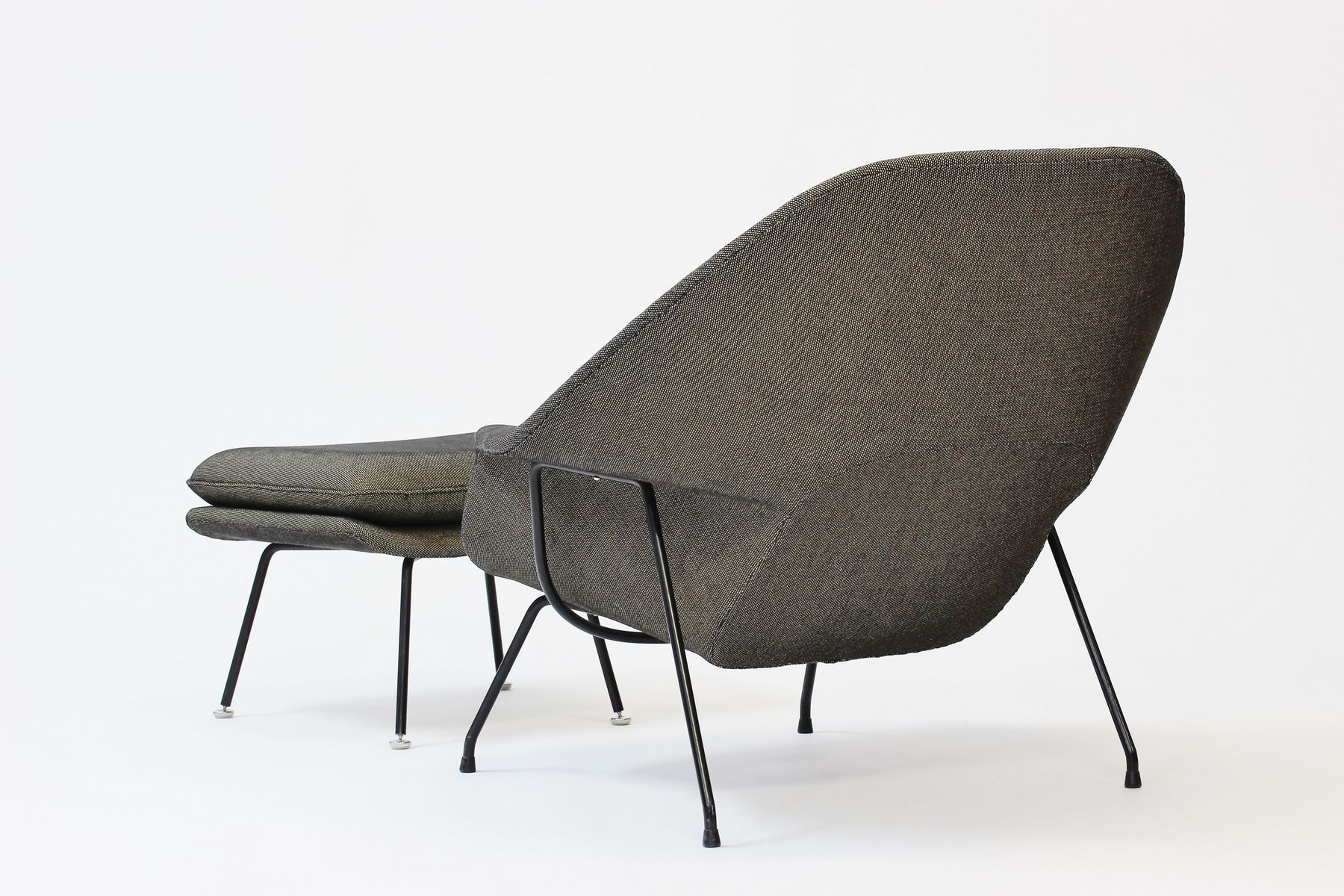 Womb chair and ottoman by eero saarinen 1960s for sale at pamono - Vintage womb chair for sale ...