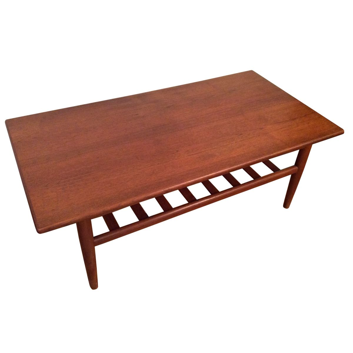 Teak Oil Coffee Table: Teak Danish Coffee Table For Sale At Pamono