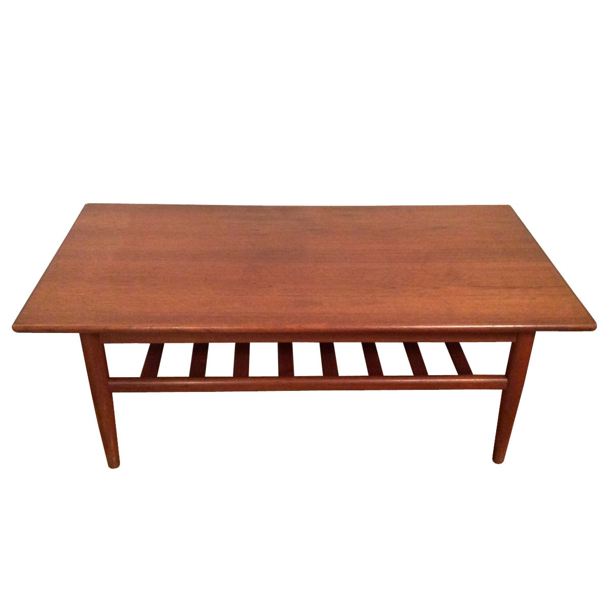 Teak Danish Coffee Table For Sale At Pamono