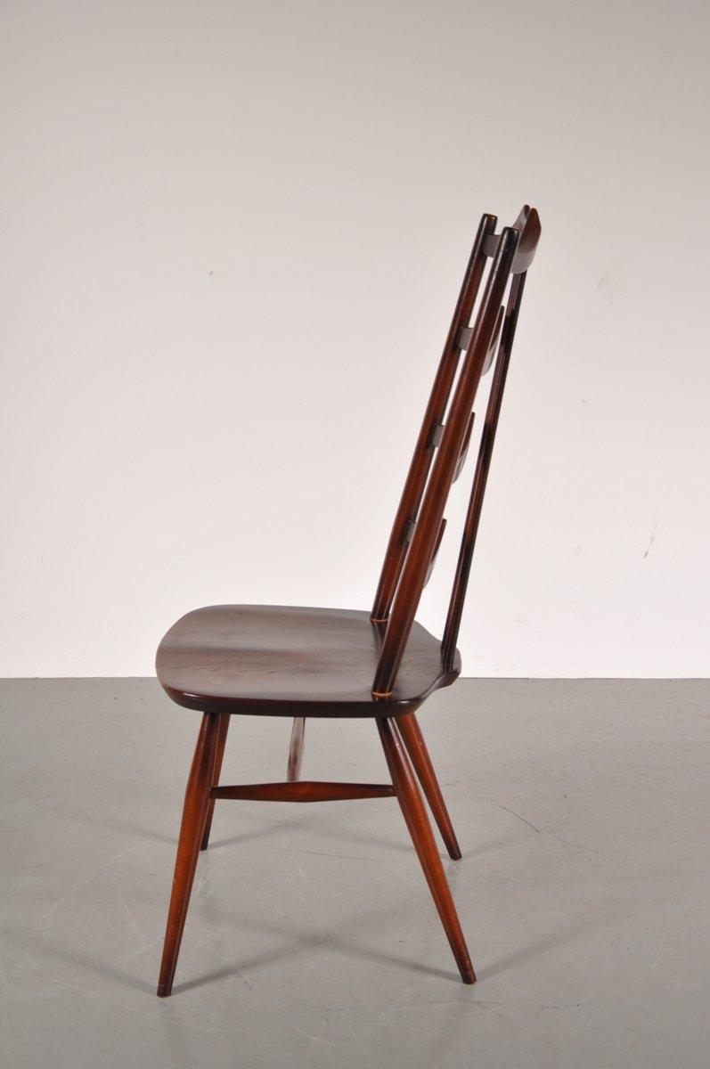 mid century esszimmerst hle aus gebeiztem holz von lucian ercolani f r ercol 6er set bei pamono. Black Bedroom Furniture Sets. Home Design Ideas