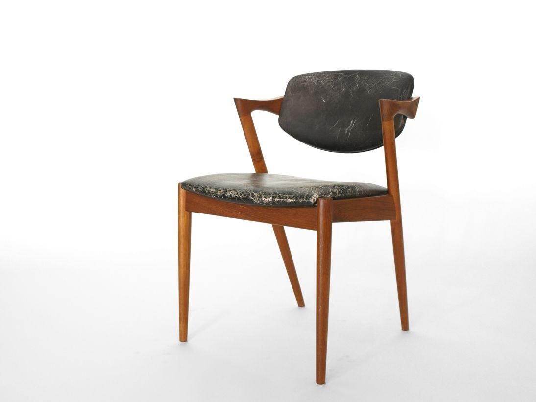 vintage z stuhl von kai kristiansen bei pamono kaufen. Black Bedroom Furniture Sets. Home Design Ideas