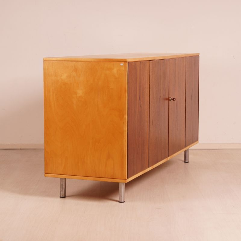 Plywood Sideboard by Cees Braakman for Pastoe for sale at Pamono