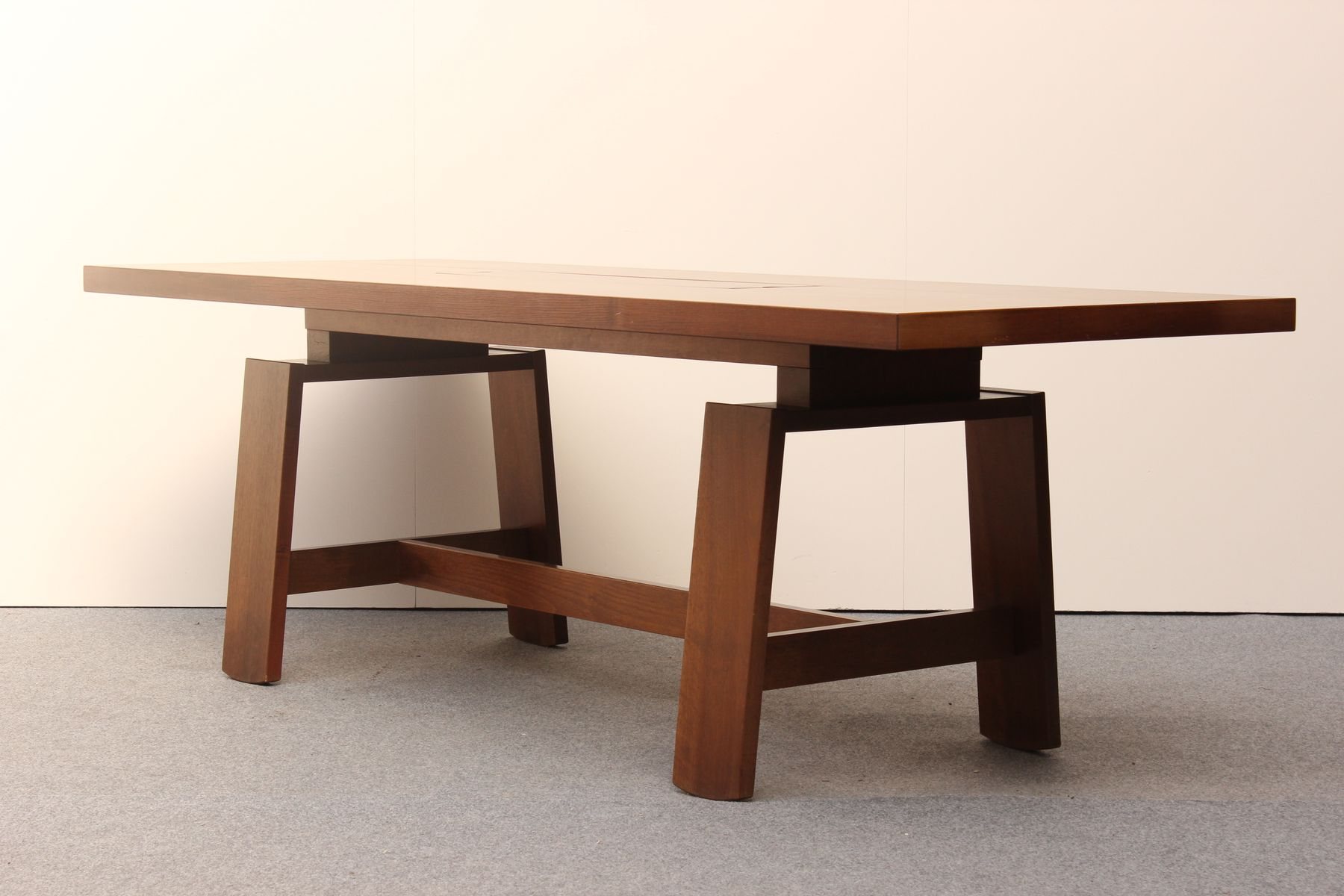 Table mod le 611 en bois et en c ramique par silvio - Table ceramique italie ...