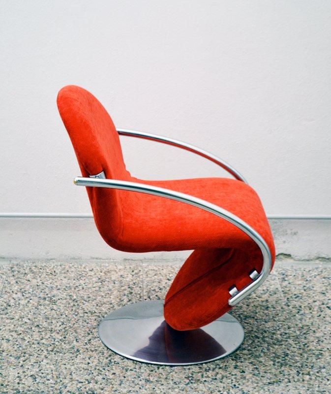 System 1 2 3 stuhl von verner panton 1970er bei pamono kaufen for Design stuhl panton