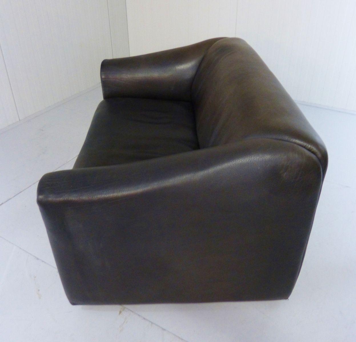 vintage ds47 2 sitzer leder sofa von de sede bei pamono kaufen. Black Bedroom Furniture Sets. Home Design Ideas