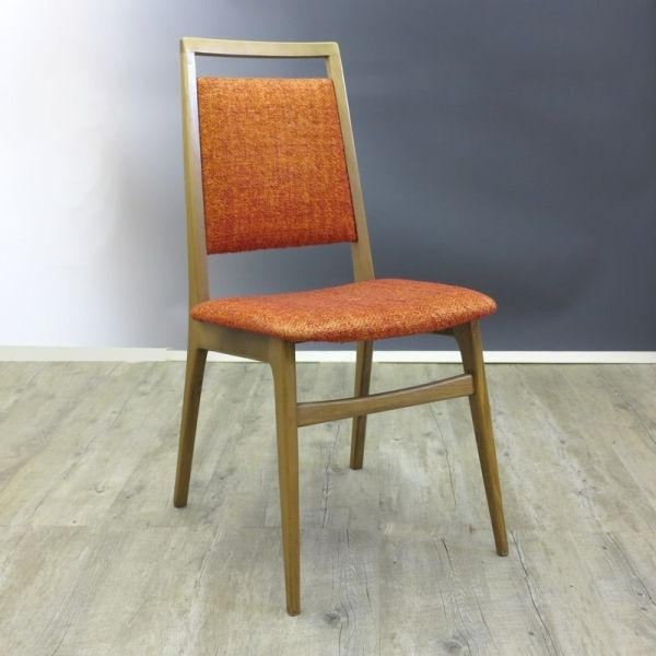 modernistische skandinavische st hle 4er set 1960er bei. Black Bedroom Furniture Sets. Home Design Ideas