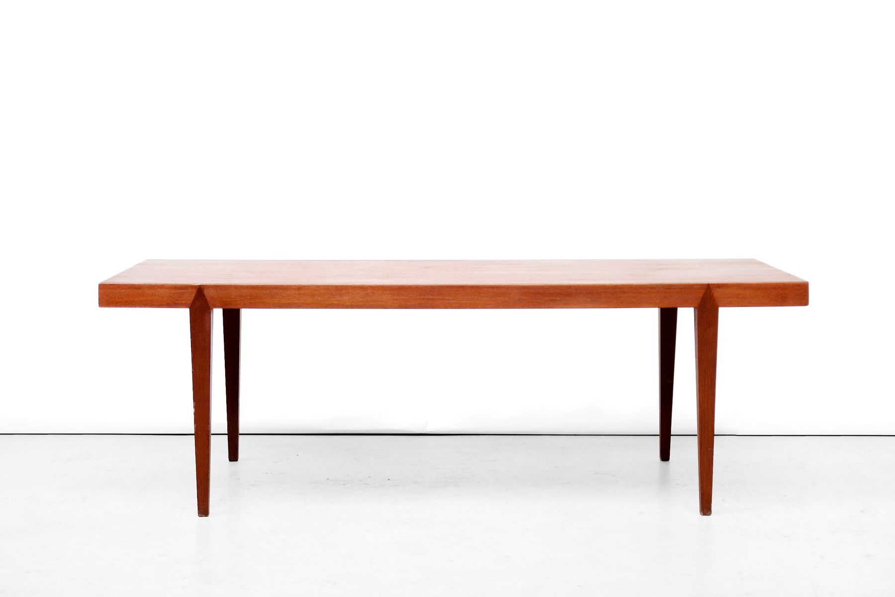 Vintage Teak Coffee Table By Severin Hansen For Haslev M Belfabrik 1950s For Sale At Pamono