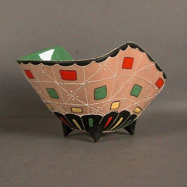 italienische keramik schale von deruta 1950er bei pamono kaufen. Black Bedroom Furniture Sets. Home Design Ideas