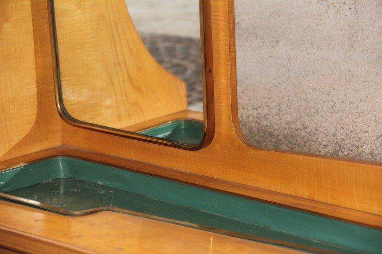 italienischer vintage garderobenschrank 1950er bei pamono. Black Bedroom Furniture Sets. Home Design Ideas