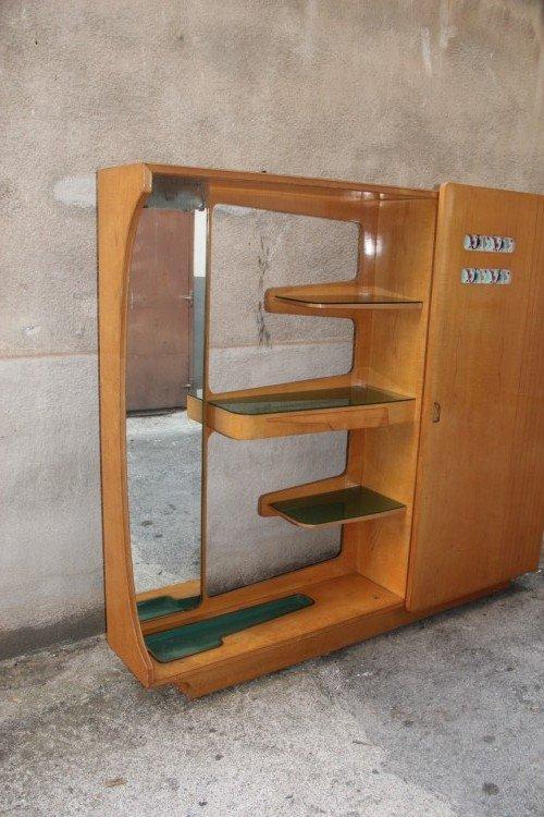 meuble d 39 entr e vintage italie 1950s en vente sur pamono. Black Bedroom Furniture Sets. Home Design Ideas