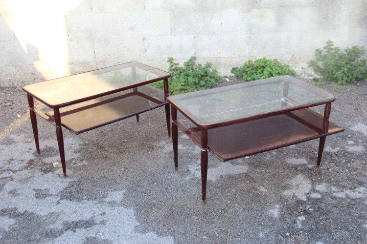 italienischer mid century couchtisch 2er set bei pamono kaufen. Black Bedroom Furniture Sets. Home Design Ideas