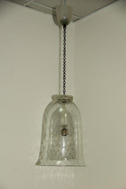 murano glas pendelleuchte von barovier 1950er bei pamono. Black Bedroom Furniture Sets. Home Design Ideas