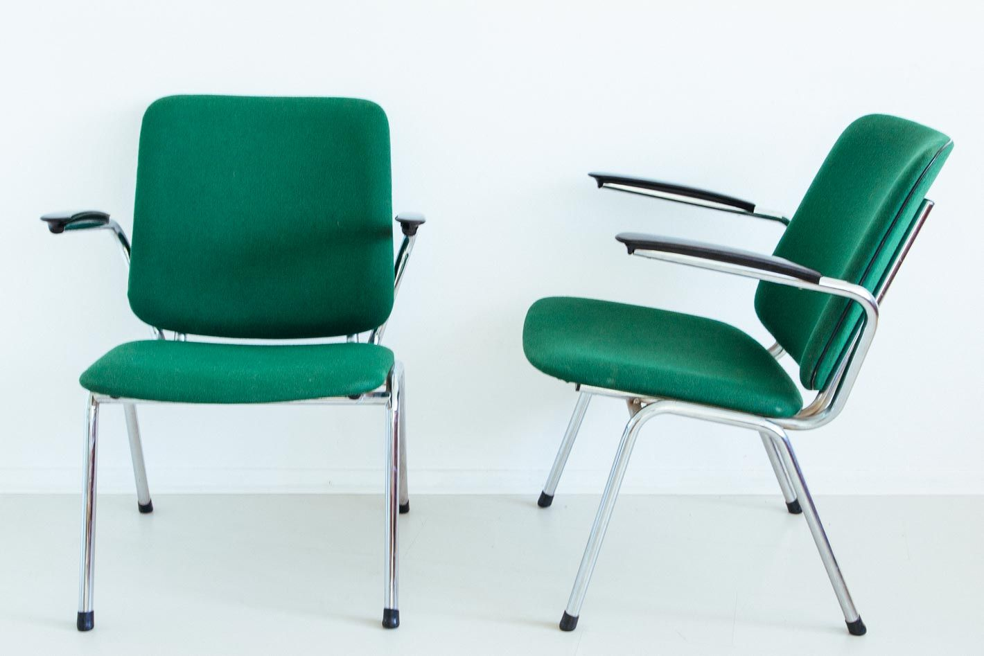Lounge Chairs by Gebr de Wit Set of 2 for sale at Pamono